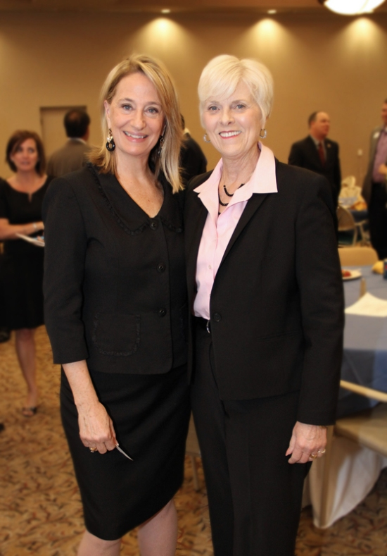 Mayor Wolcott was pleased to welcome Mayor Georgia Lord of Goodyear to the State of the City address.