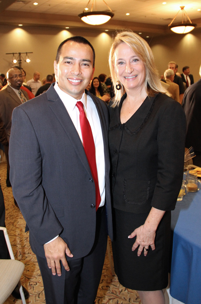 Councilman Valenzuela of Phoenix City Council, a friend of Surprise, pictured here with Mayor Wolcott.