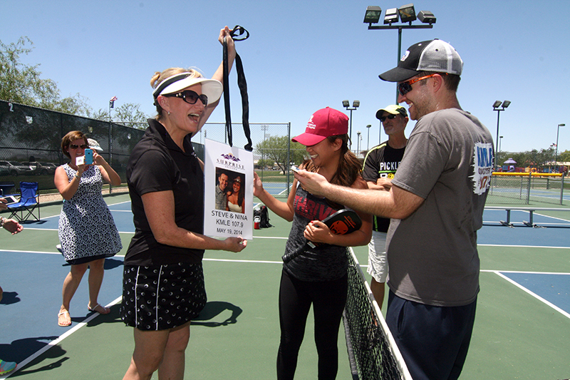 In a pickleball kmle country s steve and nina earn key to the