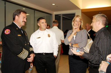 Surprise Fire-Medical Promotion Ceremony