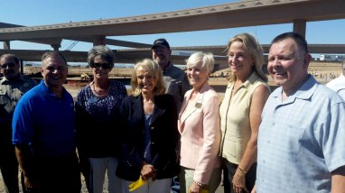 Celebration of the upcoming completion of the Loop 303 / I-10 interchange
