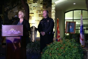 Tamera Bacon and Lt. John Bacon of Surprise PD