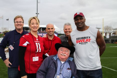 Mayor and Council with Evander Holyfield